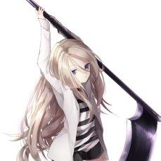 鎌を持った少女の殺戮の天使