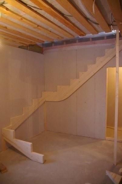 Изготовление лестницы своими руками фото 972