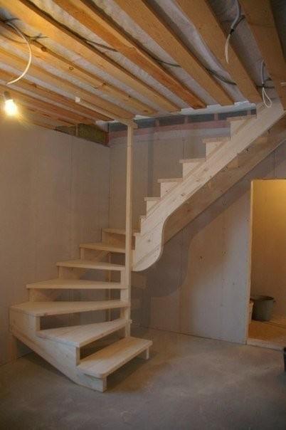 Изготовление лестницы своими руками фото 337