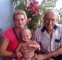 Мой внук Арсен папа и Я