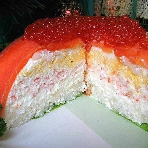 бутербродный торт от карины