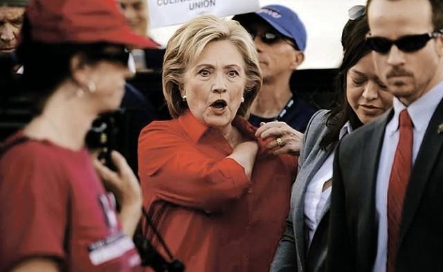Image result for хиллари клинтон ругается