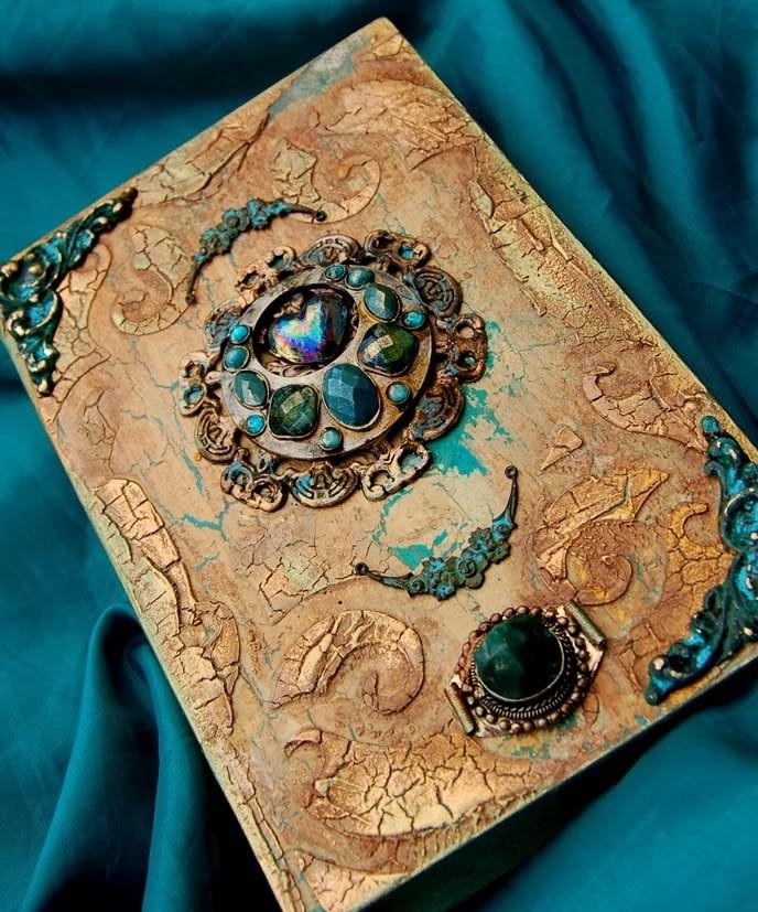 Шкатулка книга мастер класс для новичков #7