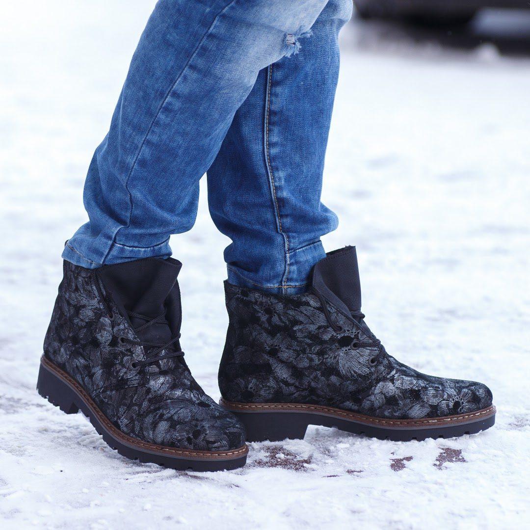 06e58c56c Замшевые ботинки Rieker Z4542-91 купить за 5450 р. в интернет магазине KC- shoes!