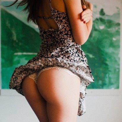 Попки платье сексуальные круглые в