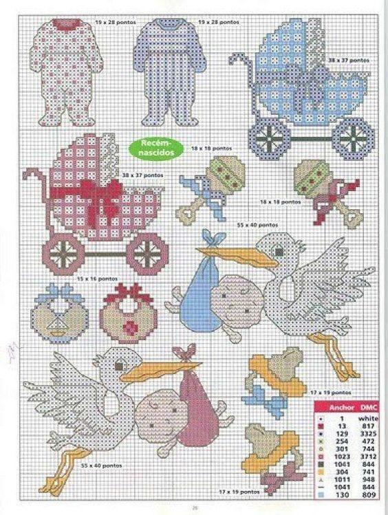 Схеми вишивки хрестиком для створення дитячої метрики. Зберігайте до своєї  скарбнички!  схеми  вишивка хрестиком  embroidery  handmade  вишивка   crossstitch aa90fa1eee41c