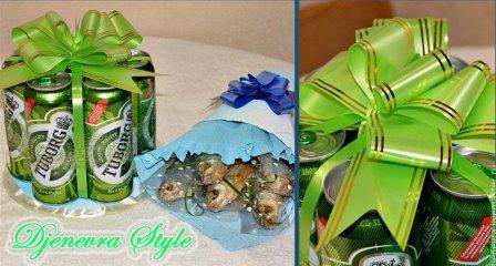 Подарок для мужчин - пивной букет - идея, 9 фото в разделе ...