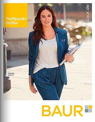 51798acec20 Немецкий каталог одежды для полных девушек и женщин Baur Treffpunkt Größe
