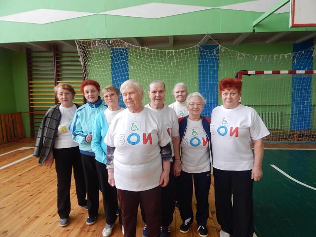 В Доме спорта прошли «Веселые старты», в которых участвовали около 70 членов Кулебакской ГО ВОИ