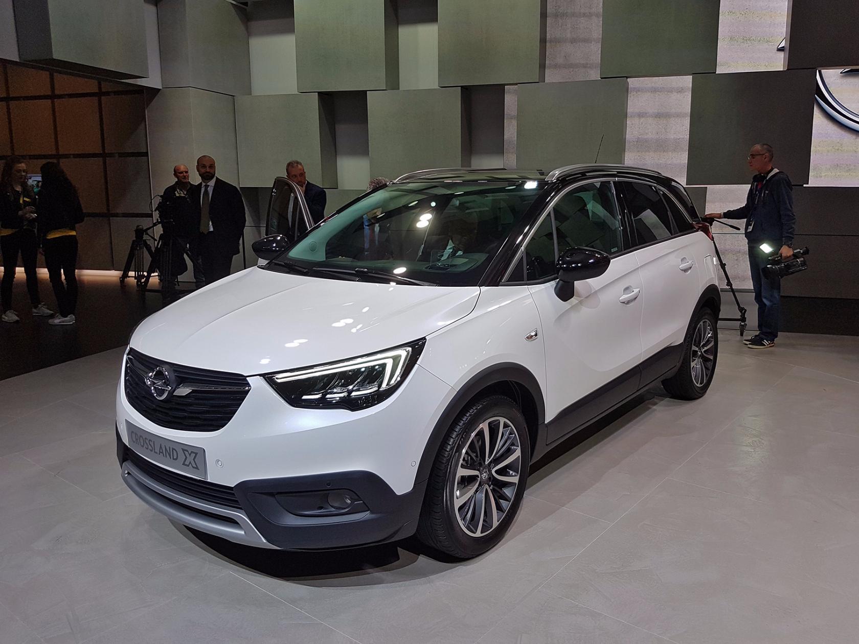 Opel Crossland X интересно впишется в модельный ряд марки