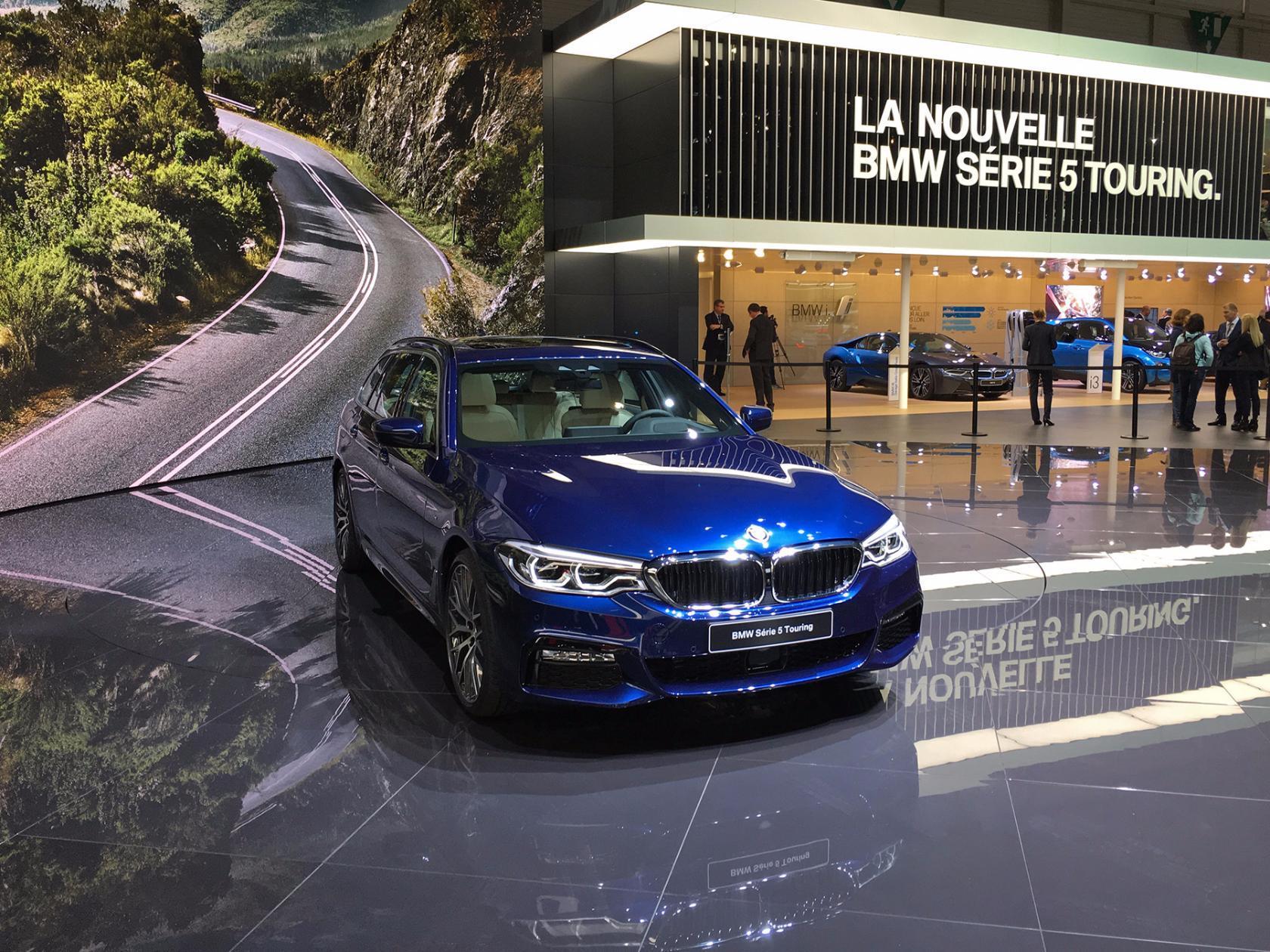 BMW 5-й серии: теперь и Touring
