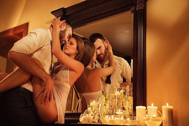 Смотреть порно видео секс при свечах