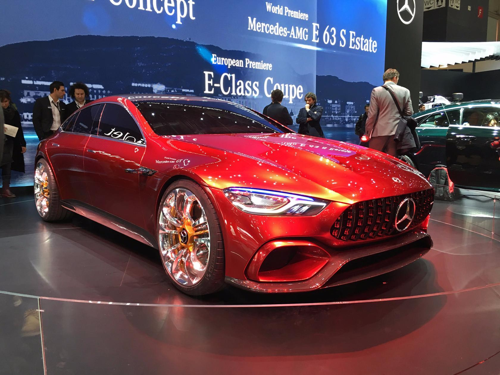 Mercedes поразил Женеву: показано 800-сильное купе