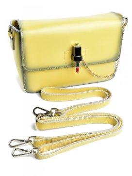 a532903ab97f Оригинальные женские сумочки из натуральной кожи с застежкой в виде ...