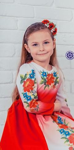 Вишиванка. Дитяче плаття