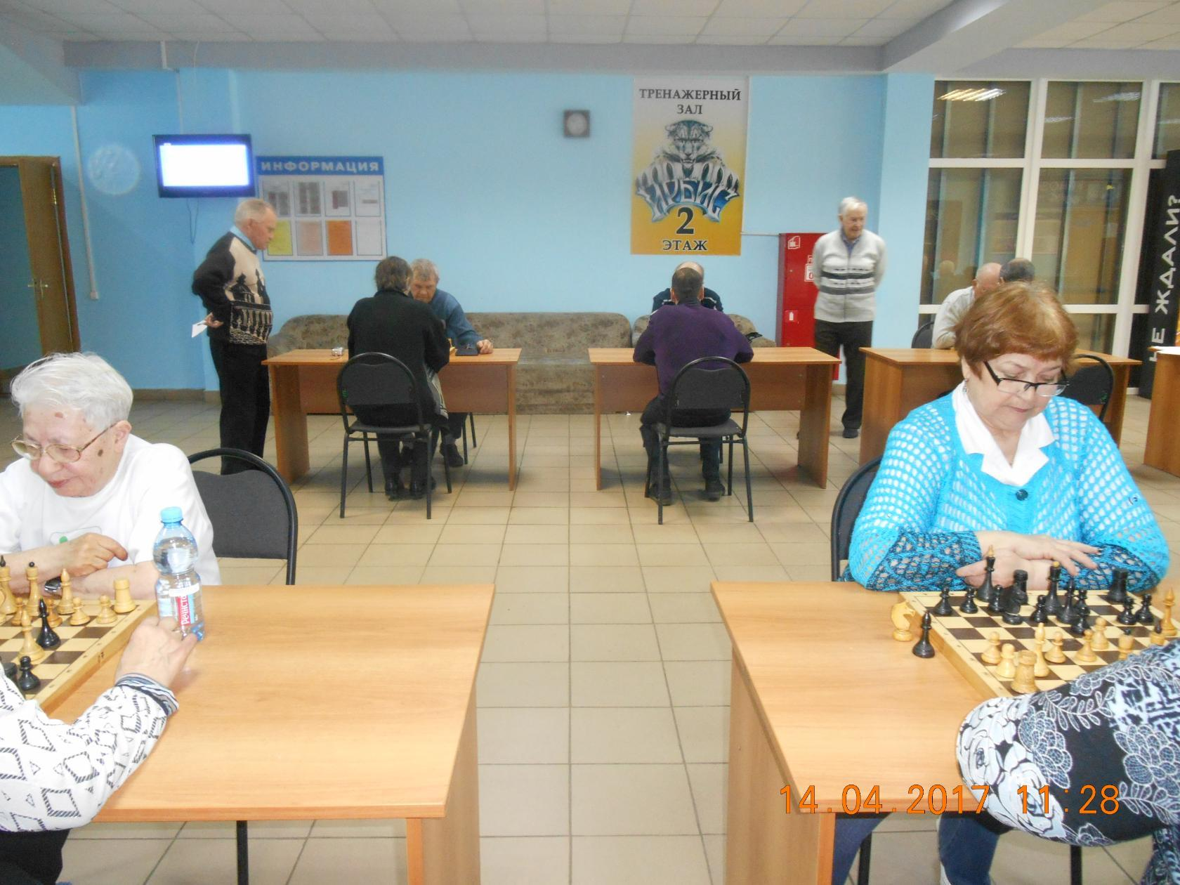 в Кулебаках состоялся шахматный турнир среди ветеранских организаций города. 1 место - команда ВОИ