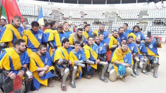 Украинцы победили россиян в финале чемпионата мира по историческому средневековому бою в испанской Барселоне - Цензор.НЕТ 8998