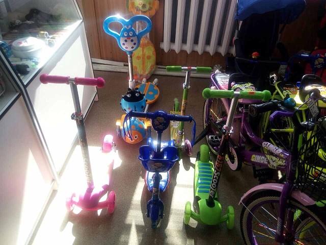 Самокаты и Детские велосипеды!магазин Альянс п .Выдрино.Добро пожаловать! d4a7ea195ce