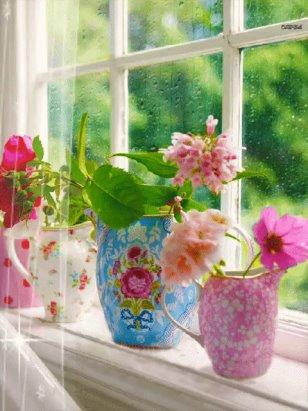 Rsultats de recherche dimages pour fleurs dans la pluie gifs