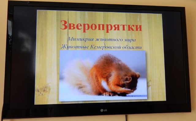 Зверопрятки. Мимикрия животного мира в ЦБС