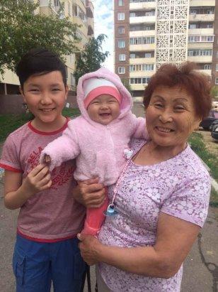 тетя с внуком
