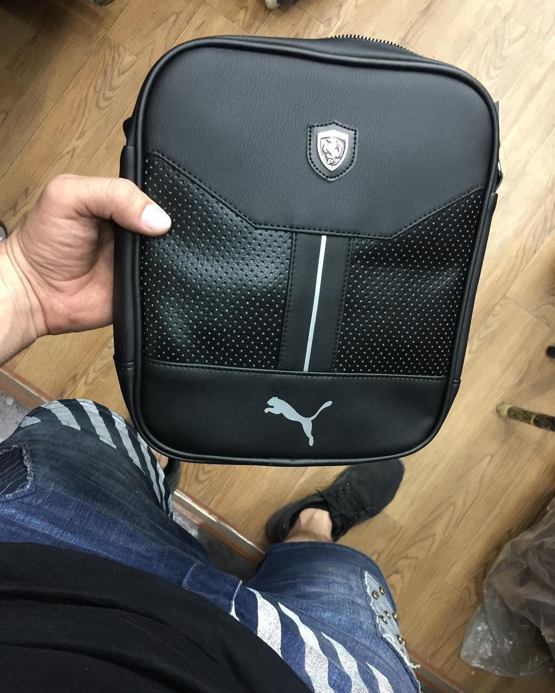 58805447a7d3 Сумка барсетка Puma Ferrari. Цена 1300 сом Материал   эко кожа. Высота 22 см.  Ширина 18 см. Цвет чёрный, белый, красный. тел 0702795680 (WhatsApp) ...