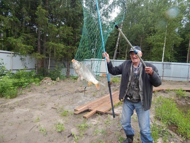 Соревнования по рыбной ловле среди членов общества ВОИ, посвященные ко Дню рыбака
