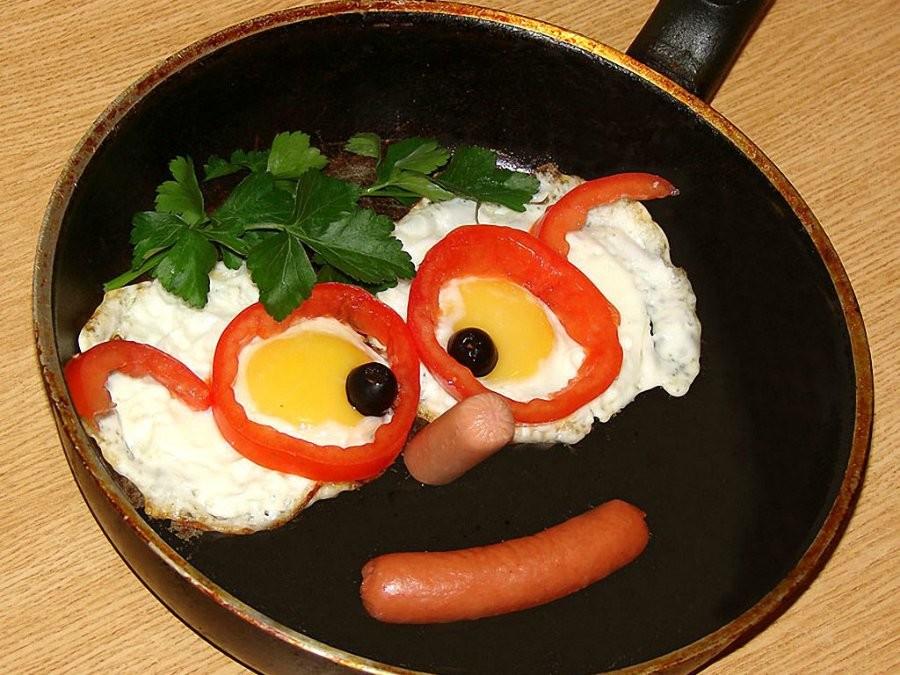 Поздравления, картинки приколы на завтрак