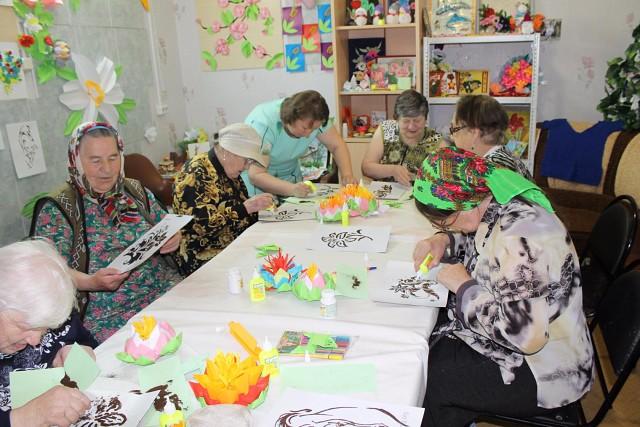 Воскресенский дом-интернат посетили гости - проживающие Краснобаковского дома-интерната