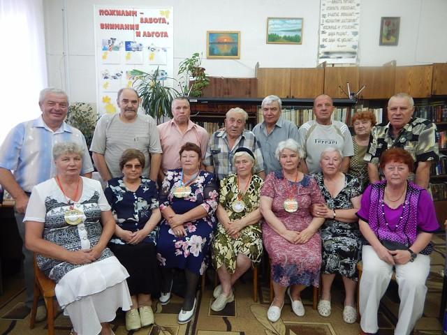 Члены городского общества инвалидов собрались на семейный ковчег «Счастливая семья – союз сердец»