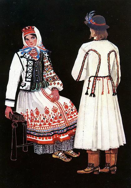 Чоловічий костюм Традиційний чоловічий одяг українців - конопляна або  льняна сорочка і вовняні штани. Сорочка часто використовувалася як верхній  одяг. 027eec0f4c46e
