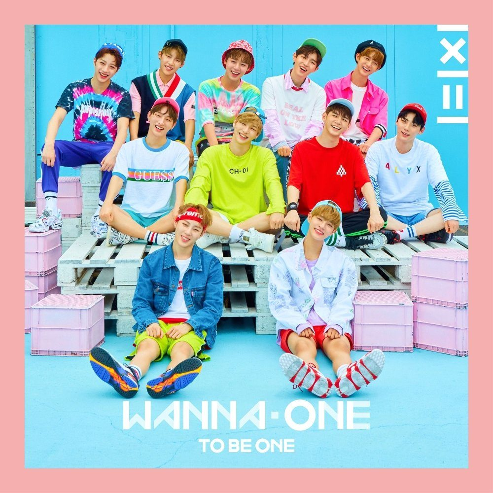 Image result for wanna one 1x1 1 to be one album cover