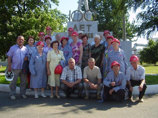 Кулебакская ГО ВОИ. Две экскурсии на металлургический завод для бывших работников предприятия