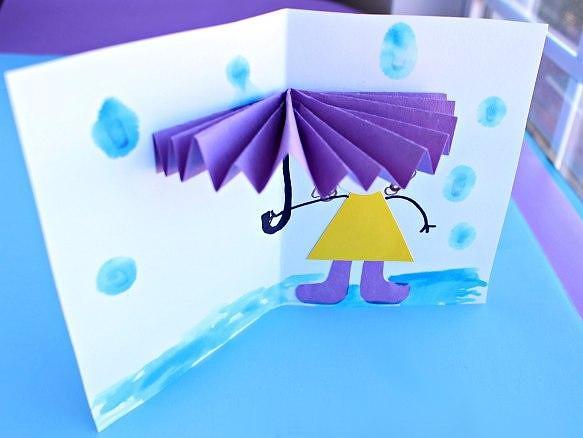 Смешная открытка объемная, поздравление месяцами девочку