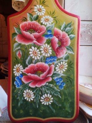 татьяна кудрявцева роспись маки на тарелке