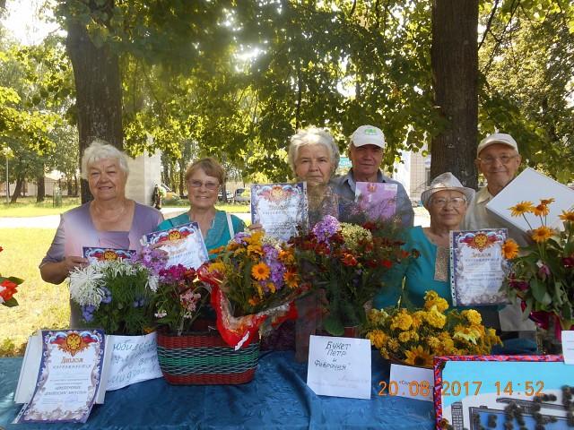 Кулебакская ГО ВОИ в муниципальном творческом конкурсе «Цветочные фантазии августа»