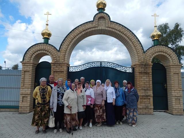 Члены Кулебакской ГО ВОИ посетили Меляевский скит «Умиление»