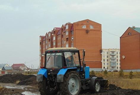 На родине Курносова