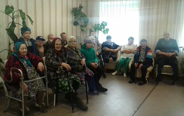 Воскресенский дом-интернат. концерт, посвященный Дню пожилого человека