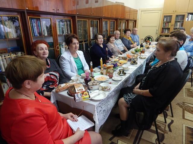 Кулебакская ГО ВОИ в библиотеке «День именинника»