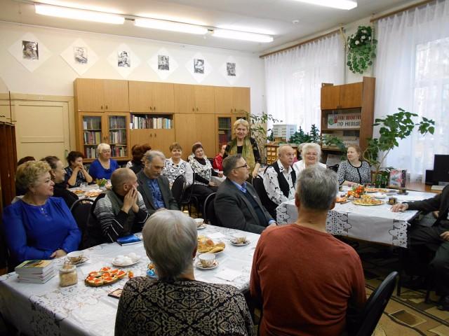 члены городского общества ВОИ г. Кулебаки в рамках клуба «Добрые встречи»