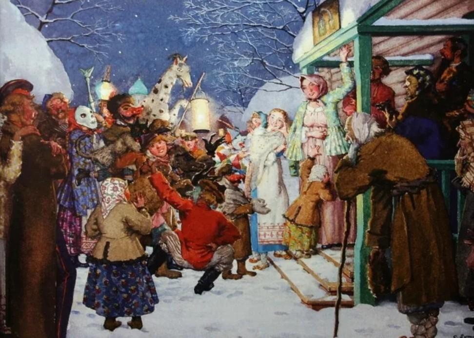 картинка рождественские гуляния