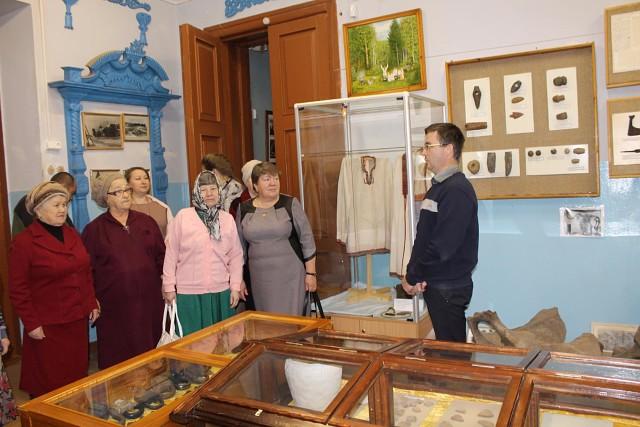 Проживающие Воскресенского дома-интерната посетили Краснобаковский дом-интернат с ответным визитом