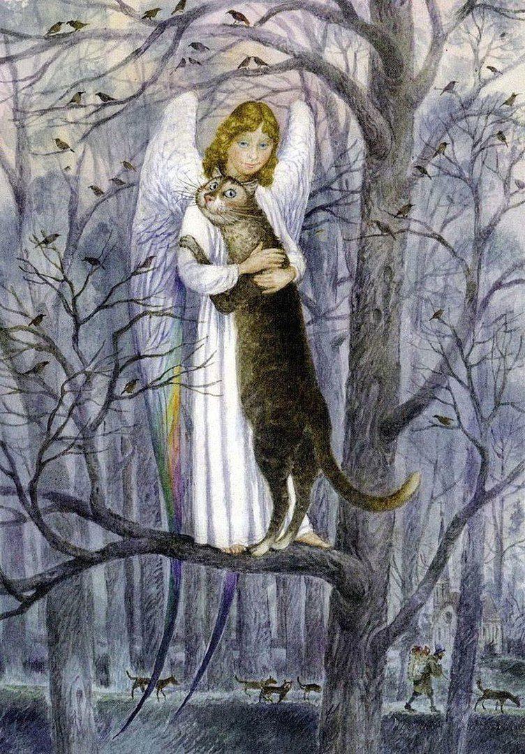 Своими руками, картинки коты румянцева