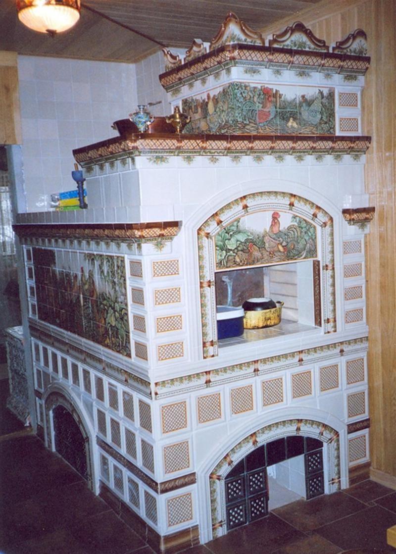 отделка русской печи фото рецепт цветной капусты