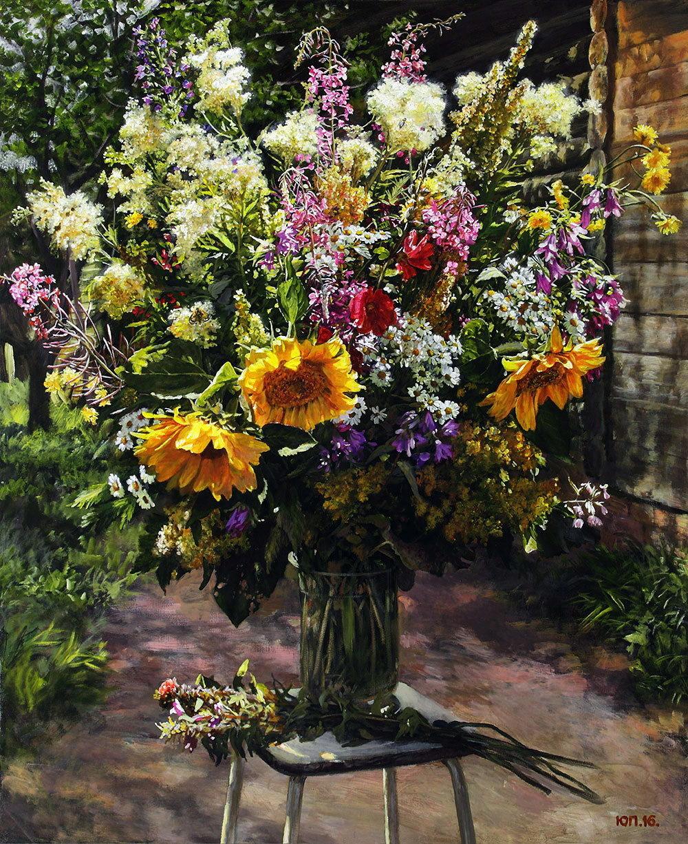 Какие цветы собирают в букеты лесные