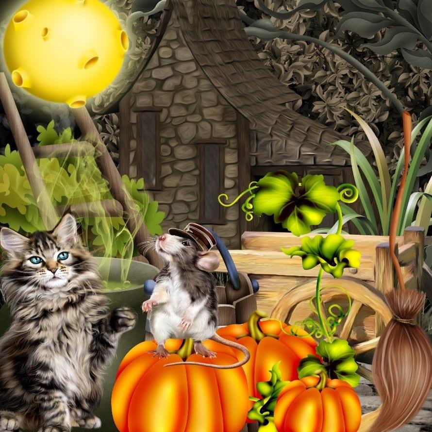 Красивые картинки. Праздники. Хеллоуин