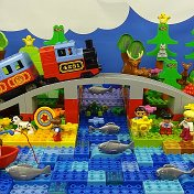 Bricks Toys Tv Lego Duplo