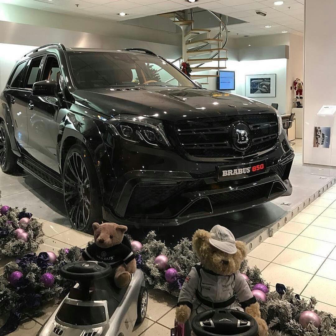 Mercedes Gls Brabus 850