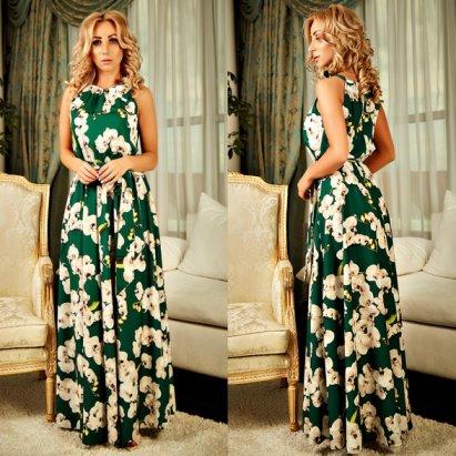 3e35b5e0f17 Купить летнее платье длинное легкое Хлоя свободного покроя на каждый день